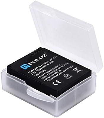 Caja de Almacenamiento de batería para GoPro HERO5 Batería AHDBT-501/3 + / 3 AHDBT-301/201: Amazon.es: Electrónica