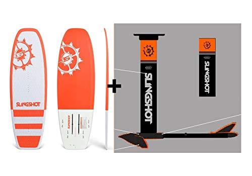 Slingshot Sports 2019 Slingshot Hover Glide Foil FWake Wake Foil Complete Package (incl. WF2 SoftTop Board), -