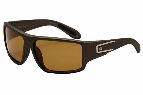 Champion Men's Graphite polycarbonate Rectangular - Sunglass Champion