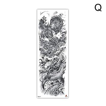 Etiqueta engomada del tatuaje a prueba de agua Brazo Tatuaje León ...