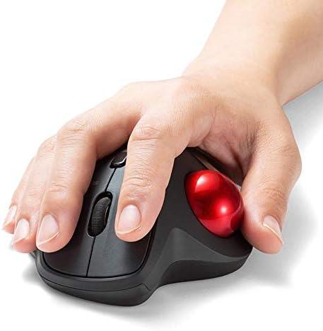 A-Gavvzq Souris sans Filsouris Trackball Bluetooth Ergonomique Bureau Vertical