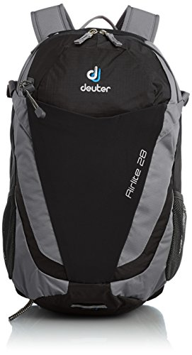 Deuter Airlite 28 - Ultralight Day Hiking Backpack, Black/Titan (Deuter Backpack Mens)