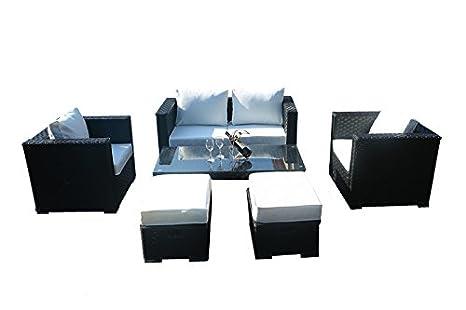 Yakoe monaco posti set divano da giardino mobili da