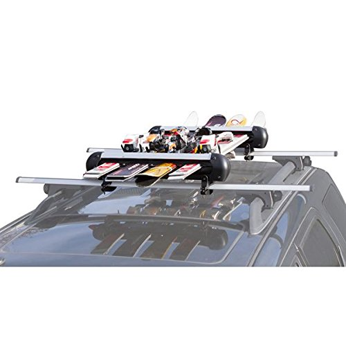 Rage Powersports SKI 4 Ski and Snowboard Roof Carrier