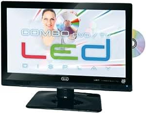 "Trevi LTV 2122 CDVD - Televisor (55,88 cm (22""), Full HD, 1920 x 1080 Pixeles, Analógico y Digital, PAL, SECAM, DVB-T) Negro"