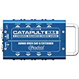 Radial Engineering Catapult RX4 Cat5 Audio Receiver (8 XLR Out) Receive with 8 XLR outs