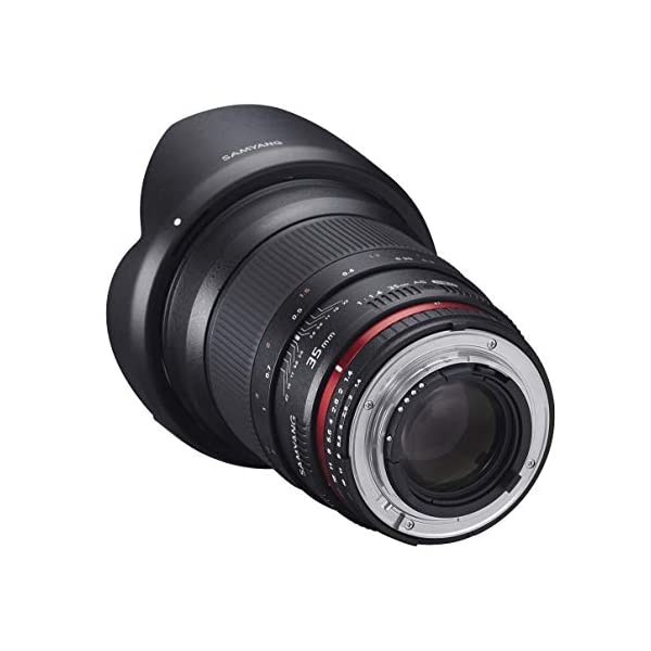 RetinaPix Samyang SY35M-C 35mm F/1.4 Prime Lens for Canon (Black)