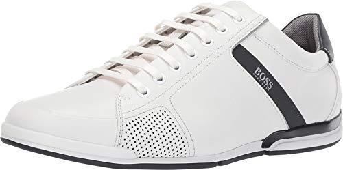 - Hugo Boss Men's Saturn White Sneakers Shoes Sz: 9