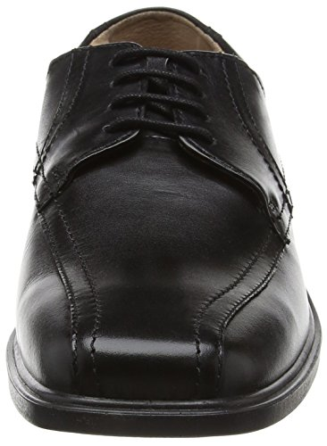 Padders Aston - derby cordones de cuero hombre negro - Black (Black Polished)