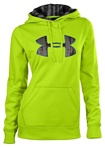 Under Armour Women's UA Armour® Fleece Big Logo Hoody Tops