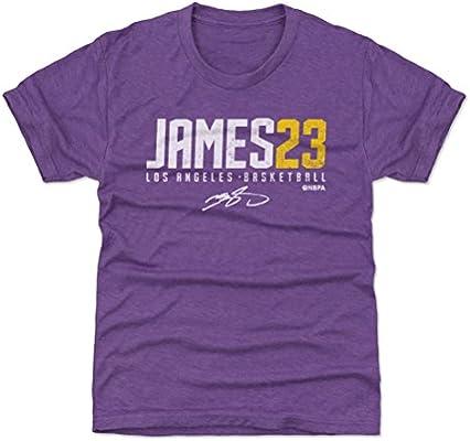 Amazon.com   500 LEVEL Los Angeles Basketball Youth Shirt - Kids X ... 16ea62c74
