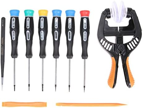 Xligo 12pcs Repair Opening Tool Kit Screwdriver Set Repair Tools Disassemble Tool Set for Mobile Phone Home Appliances DYI Hand Tool