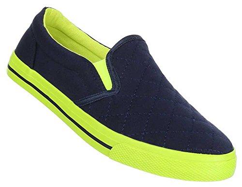 Damen Schuhe Halbschuhe Slipper Schlupfschuhe Sneaker Freizeitschuhe