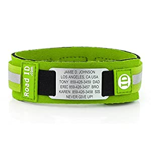 Road ID Anklet - the Ankle ID - Identification Anklet, Ankle ID, Child ID, and Sport ID - Fits Adults & Kids