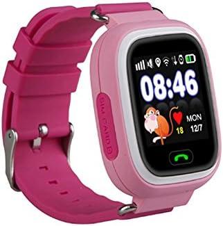 Relógio Smartwatch Q90 Kids Gps Localizador De Crianças Idosos Rastreador Chamadas Sos Andorid Ios Rosa Amazon Com Br