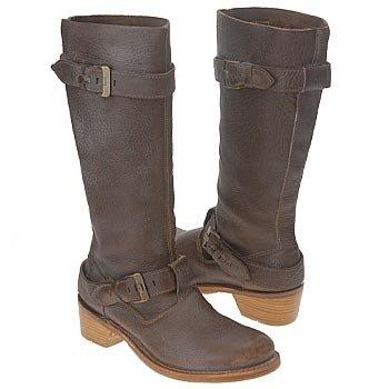 c97997706e3 Dr. Martens Women's DM Jolie 2 Strap Knee High Leather Boots Brown ...