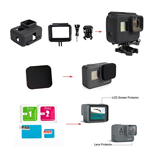iGANK Accessories GoPro Protective Include