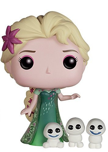 Funko POP Disney Frozen Fever - Elsa 3 3/4 Inch Action Figure Dolls Toys