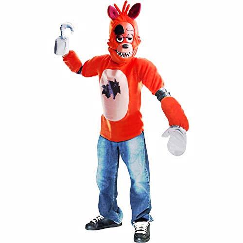HalloCostume Boys Foxy Costume - Five Nights at Freddy's, Halloween Kids' Boys' Costumes for Children -