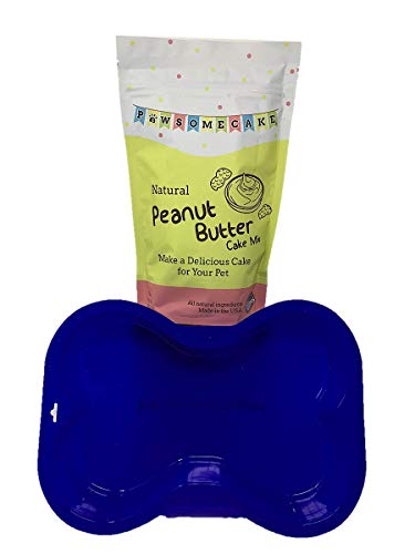 - Dog Bone Cake Pan & Pawsome Cake Mix (Peanut Butter)