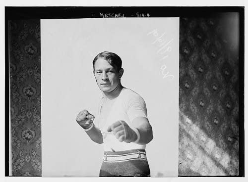 Historic Photographs, LLC Photo: Stanislaw Kiecal,Stanley Ketchel,1886-1910,in Boxing Pose,Professional Boxer