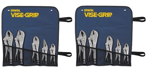 IRWIN VISE-GRIP Original Locking Pliers Set, 5 Piece Set, 68 (2-Pack)