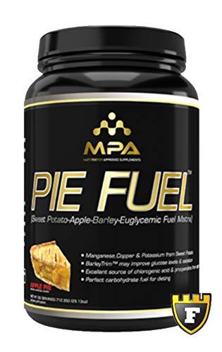 (MPA Supplements Pie Fuel (Apple Pie, 1.75 LBS) - Sweet Potato•Apple•Barley Euglycemic Fuel Matrix)