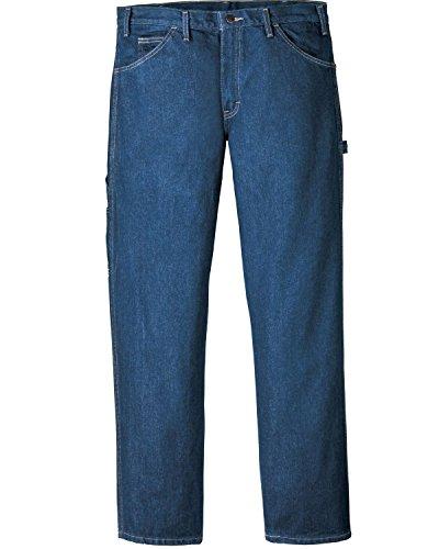 Dickies Occupational Workwear LU200RNB4234 LU200 Industrial Carpenter Denim Jean, Fabric, 42
