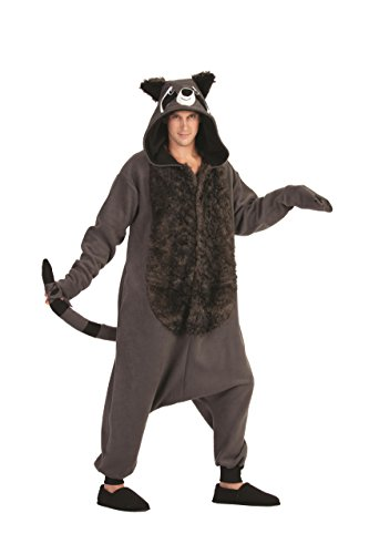 RG Costumes Rocky Raccoon, Gray/Black, One Size