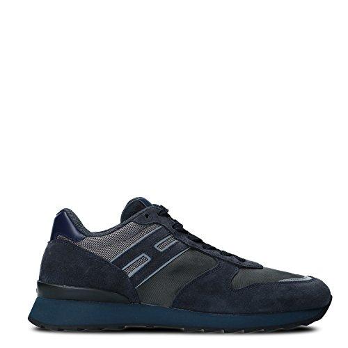 Hogan Mannen Hxm2610r676hjw780r Blauwe Su�de Sneakers