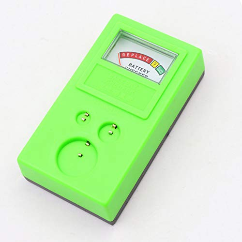 Taiguang Universal 3V 1.55V AA/AAA Cell Button Battery Tester Checker Tool Accuracy - Green (Ansmann Energy Check Lcd Battery Tester Review)