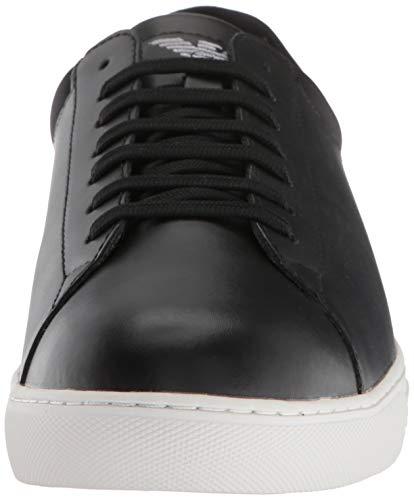 Emporio Sneakers Nero Nello Armani Basse Uomini 6T6wxqOrZ