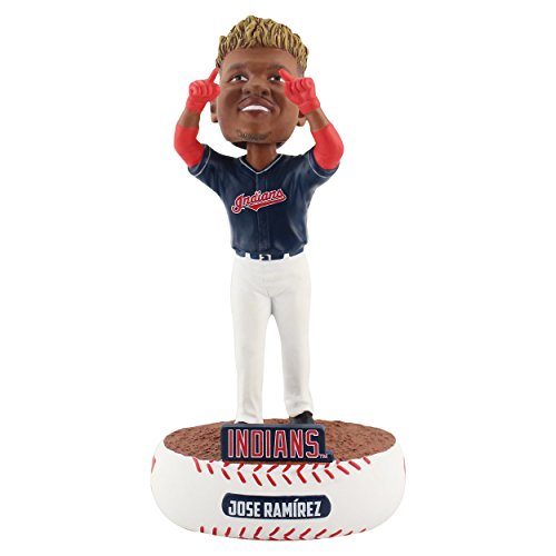 Mlb Bobble Head - Forever Collectibles Jose Ramirez Cleveland Indians Baller Special Edition Bobblehead MLB