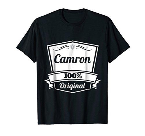 Camron Gift Shirt / Camron Personalized Name Birthday TShirt