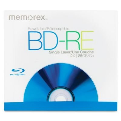 Memorex 2x BD-RE Media 05502