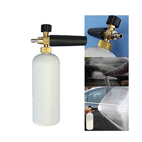 Leeminus réglable à mousse Rondelle Bouteille de savon 1L Lavage de voiture Pulvérisateur 50%OFF