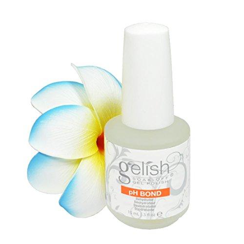 Nail Prep UV Gel Harmony Gelish PH Bond Top Polish Glitters Soak Off Quick Dry Beauty Popular Dryer Kit Volume 0.5floz or 15ml