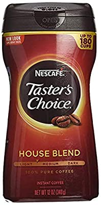 Nescafe Taster's Choice Instant Coffee, Regular, 14 Ounce (3 Pack)