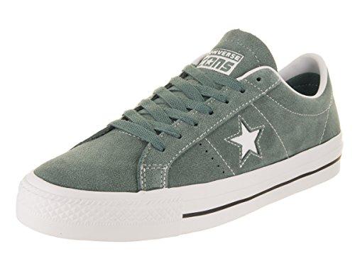(Converse Unisex One Star Pro Ox Hasta/White/White Skate Shoe 11 Men US)