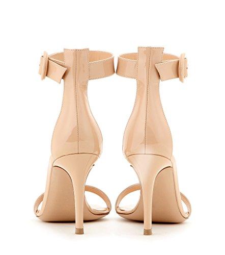 elashe - Correa para el tobillo Mujer Beige-Lack