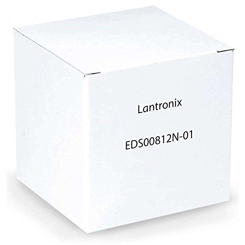Lantronix EDS8PR 8-Port Device Server (EDS00812N-01) - by Lantronix