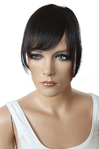 PRETTYSHOP 100% Real Human Hair Clip in Bang Fringe