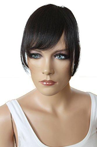 PRETTYSHOP 100% Real Human Hair Clip in Bang Fringe