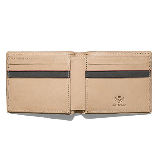 Mens J Wallet Wallet Slim New from Clay Duotone The York FOLD R6rPRwq