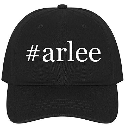 The Town Butler #Arlee - A Nice Comfortable Adjustable Hashtag Dad Hat Cap, Black ()