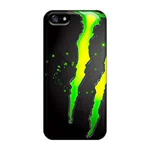 Lowomobilephone7 Cases Covers Protector Specially Made For Iphone 5/5s Monster Enegry Drink