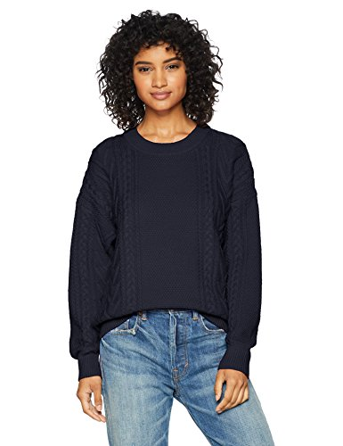 Cable Stitch Women's Cable Crewneck Sweater