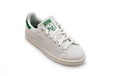 adidas Stan Smith Damen Sneaker Weiss Grün S42100: