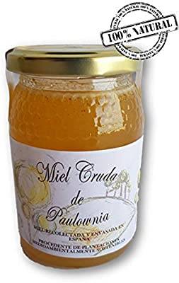 Miel de paulownia | 100% natural y pura | Producida en España | Plantaciones sostenibles | 500gr: Amazon.es: Alimentación y bebidas