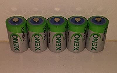(5) Xeno Er14252 1/2aa Lithium Batteries For Eemb Er14250